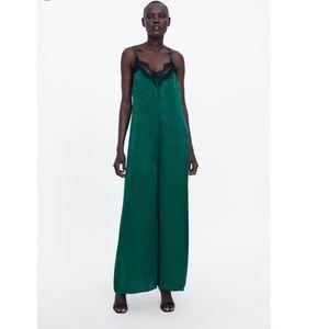 New Zara lingerie stile jumpsuit